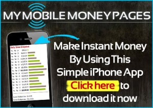my mobile money, Iphone apps